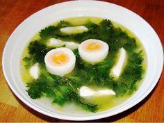 Velikonoční polévka z kopřiv - | Prostřeno.cz Palak Paneer, Food And Drink, Hair Beauty, Soup, Ethnic Recipes, Soups, Cute Hair