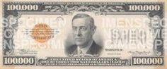$100,000 Bill-Front