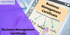 The Business Management certificate program is constructed for students who are interested in achieving entry-level management skills. For more queries about the course. Online Certificate Programs, Certificate Courses, Online Training Courses, Online Courses, Certificate Of Completion, Corporate Communication, Global Business
