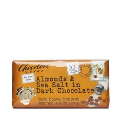 Shop Chocolove Almonds & Sea Salt Dark Chocolate - 55% Cocoa at wholesale price only at ThriveMarket.com