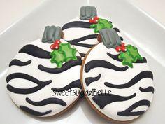 Make Zebra Print Cookies..and MORE Animal Prints& MORE  Tutorials~sweetsugarbelle.com