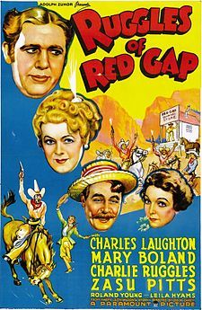 Ruggles of Red Gap (1935). D: Leo McCarey. Selected in 2014.