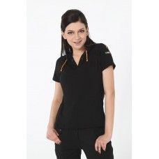 Bamboo Knitted Tee Short Sleeves with Hood