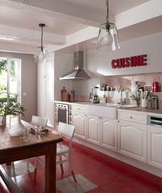 Cuisine COOKE&LEWIS Authentik blanc - castorama