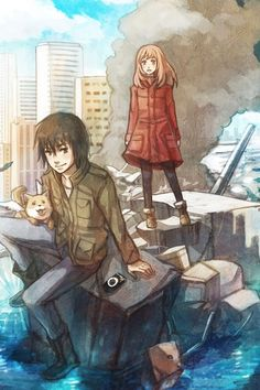 eden of the east | Tumblr : Sub and Dub for this series are both great but the dub is solid, if you enjoy dubs then give it a shot. I really don't prefer one to the other so its up to you