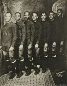 Team photo (collegiate?) by James Van Der Zee, 1925