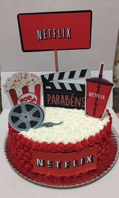 Birthday Party For Kids Unisex Ideas Boys 18th Birthday Cake, Bithday Cake, Cute Birthday Cakes, Birthday Cakes For Teens, Birthday Parties, Fondant Cakes, Cupcake Cakes, Bolo Tumblr, Movie Cakes