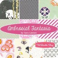Ambrosial Fantasia Fat Quarter BundleSara Lawson for Art Gallery Fabrics