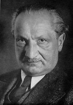 """Martin Heidegger - a German philosopher known for his existential and phenomenological explorations of the """"question of Being"""". Heidegger is known for offer..."""