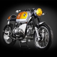 — megadeluxe: BMW R100RS by Cytech. (Via...