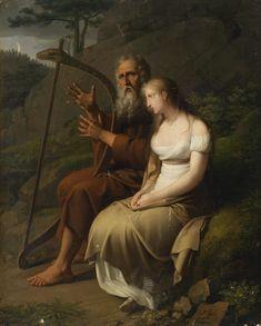 Ossian and Malvina, by Johann Peter Krafft, 1810 http://upload.wikimedia.org/wikipedia/commons/0/01/Krafft_Ossian_und_Malvina.jpg
