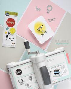 Micaela Ferrero | Tarjeta de grandes ideas con Sizzix | http://micaelaferrero.com