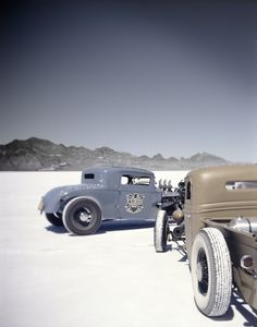 Ready for some hot rodding in the saltlands? :)