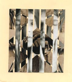 Composición 2 imágenes, una con cortes paralelos y otra con cortes no paralelos