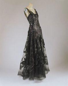 1938-1939, Madeleine Vionnet Evening Dress
