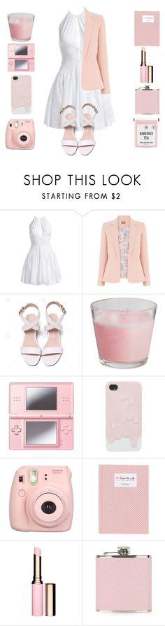 """""""Pastel Fillers ~Entry One"""" by lexi-lunar ❤ liked on Polyvore featuring Alaïa, Nintendo, Fujifilm, Clarins and Topshop"""