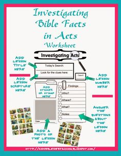 IFA: Investigating Bible Facts in Acts Supplies