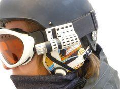 3D Printed Camera Mounts For Skiing. #3dprint #3dprinted