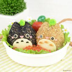 Sesame Totoro bento