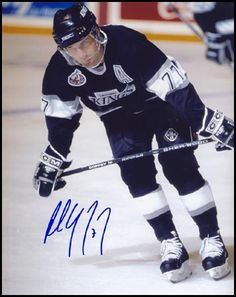 Paul Coffey 8x10 LA Kings Signed Photo