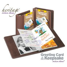 The PostMarked Greeting Card Keepsake Infinity Sleeve Was Designed For Long Term Storage And Safe Handling Of Cards Postcards
