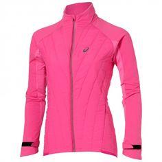 HYBRID JACKET #ropa #deportiva #chaqueta #mujer #running #asics www.base.net