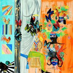 Artwork >> Maximin Lida >> MASQUERADE - Contemporary