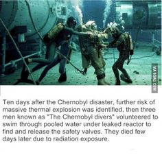 Chernobyl divers