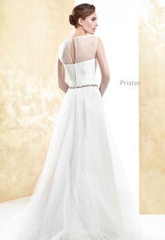 PRISTON  wedding dress Cabotine