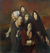 The Fear (Homage to Francisco Goya) - Corneliu Baba