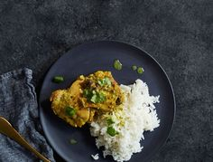 How to make Slow Cooker Thai Chicken Thighs for an easy lunch or dinner