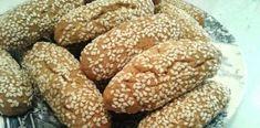 Υπέροχα τραγανά κουλουράκια του λαδιού με σουσάμι Hamburger, Vegan Recipes, Bread, Food, Vegane Rezepte, Brot, Essen, Baking, Burgers