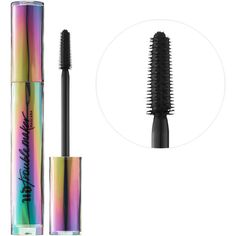 Mascara & Waterproof Mascara | Sephora ($24) ❤ liked on Polyvore featuring beauty products, makeup, eye makeup, mascara, urban decay, lengthening mascara, urban decay eye makeup and urban decay mascara