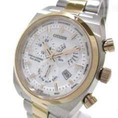 CITIZEN E870-S083281 Silver Gold Men's Wrist Watch 2N1160867 #brandear #watch http://ift.tt/2hGZ42J