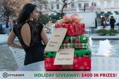 Enter the StyleSays and Charlotte Russe Holiday Giveaway to win one of $400 worth of prizes!
