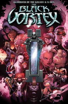 Submit to the Vortex – Your First Look at GUARDIANS OF THE GALAXY & X-MEN: THE BLACK VORTEX ALPHA #1!