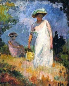 La Mère et L'Enfant ~ Henri Lebasque ~ (French 1865-1937)