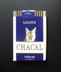 Embalagem de Chacal Lights