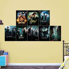 Harry Potter Movie Poster Collection