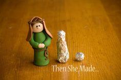 Then she made...: Nativity - Joseph Tutorial