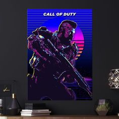 Metal Poster Call Of Duty Black Ops
