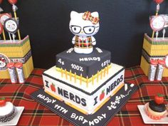 Hello Kitty Nerd Birthday Party Ideas | Photo 8 of 43 | Catch My Party
