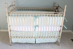 Crib Bedding Available from Miss Polly's Piece Goods    http://www.etsy.com/shop/MissPollysPieceGoods
