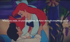 The little mermaid quote awwwwwwwww that is so cute!