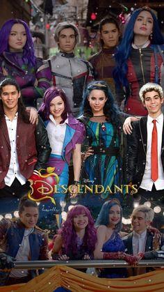Descendants Pictures, Disney Channel Descendants, Descendants Cast, Cameron Boyce, Disney Up, Disney Movies, Kids Series, Decendants, Disney Images