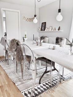 Siljes blogg: Borddekking nordisk stil