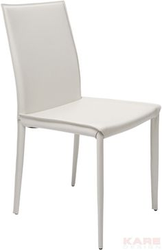 Leather Chair Milano White