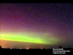 Northern Lights - Arthur, Ontario - October 2, 2013 - YouTube