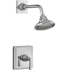 Kohler KT131344BCP/K304K Pinstripe Single Handle   Shower Faucet - Polished Chrome
