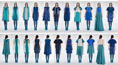 Craft Work, Behance, Gallery, People, Blue, Collection, Fashion, Paper Craft Work, Moda